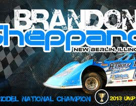 nº 25 pour Design a Banner for Brandon Sheppard Racing par kabirchy