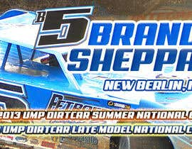 nº 20 pour Design a Banner for Brandon Sheppard Racing par pris