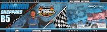 Graphic Design Inscrição do Concurso Nº48 para Design a Banner for Brandon Sheppard Racing