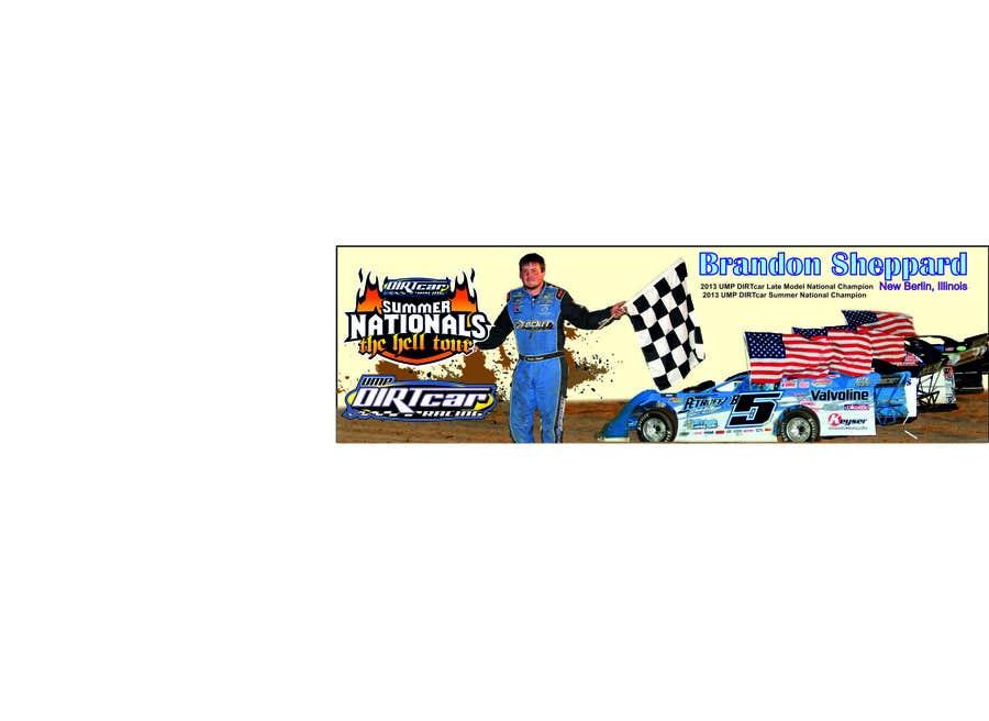 Konkurrenceindlæg #12 for Design a Banner for Brandon Sheppard Racing