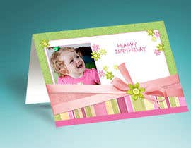 #52 for Design some Stationery for Childs Birthday Photo Card by mdmonirhosencit