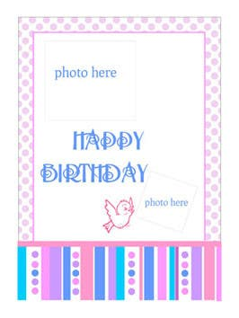 #74 for Design some Stationery for Childs Birthday Photo Card by primavaradin07