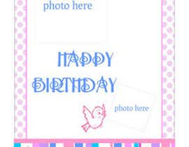 primavaradin07 tarafından Design some Stationery for Childs Birthday Photo Card için no 74