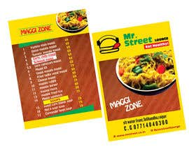 #4 cho Design a Banner for MAGGI ZONE MENU bởi ajdezignz