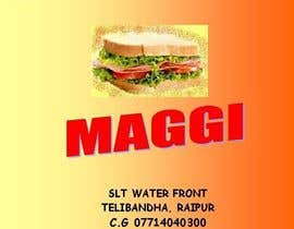 #18 for Design a Banner for MAGGI ZONE MENU by jasmyne4u