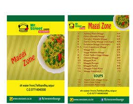 #45 for Design a Banner for MAGGI ZONE MENU af kiranayub22
