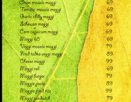 #35 for Design a Banner for MAGGI ZONE MENU af rishavkumar93