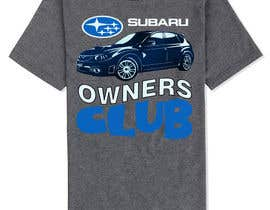 #17 para Subaru Owners Club T-Shirt Design por emayan