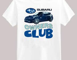 #18 cho Subaru Owners Club T-Shirt Design bởi emayan