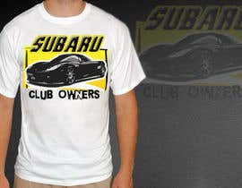 #19 for Subaru Owners Club T-Shirt Design af lanelambden