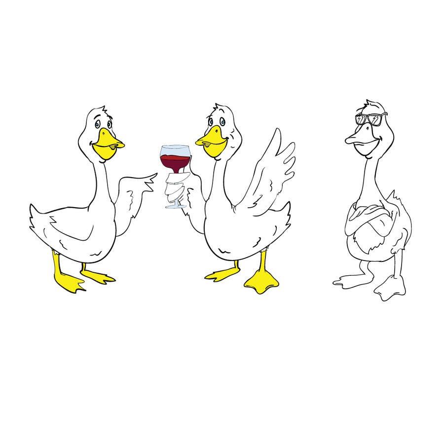 Penyertaan Peraduan #                                        1                                      untuk                                         Draw a goose in several attitudes