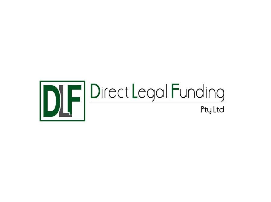 Kilpailutyö #32 kilpailussa Design a Logo for Direct Legal Funding Pty Ltd