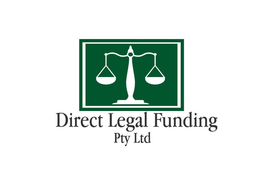 Kilpailutyö #15 kilpailussa Design a Logo for Direct Legal Funding Pty Ltd