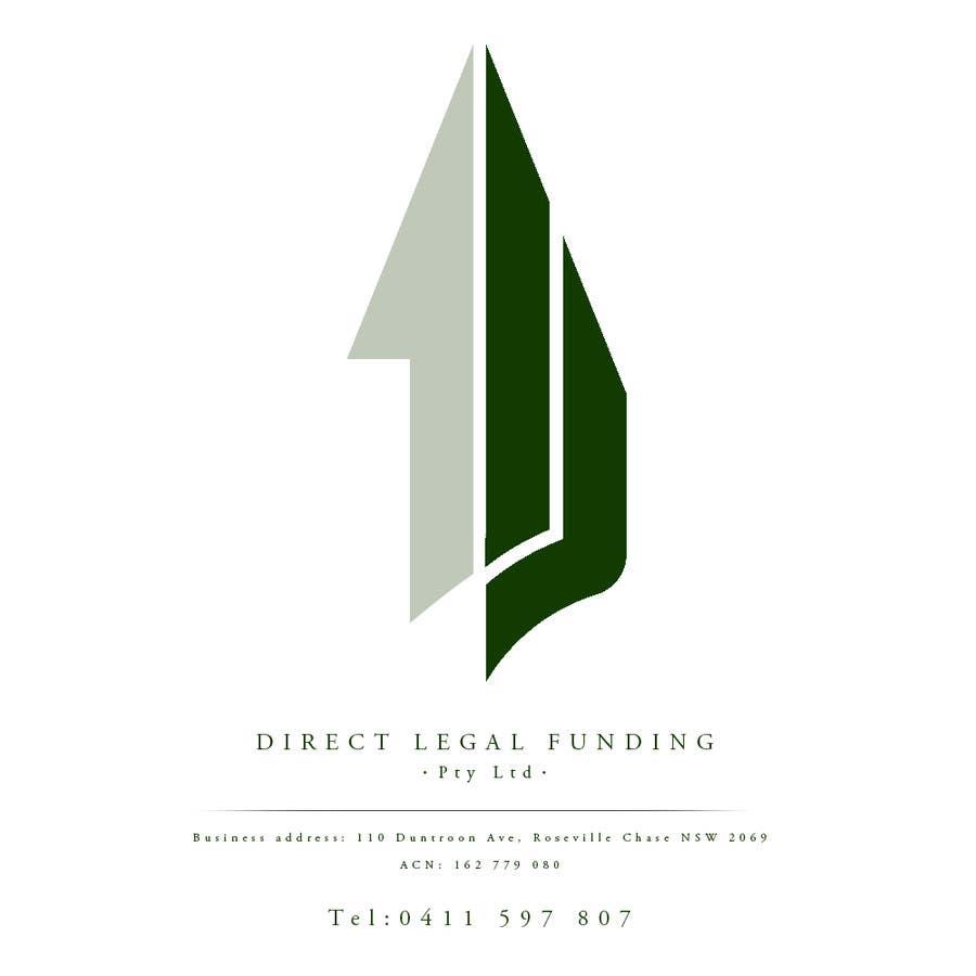 Kilpailutyö #14 kilpailussa Design a Logo for Direct Legal Funding Pty Ltd