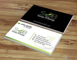 #85 per Design some Business Cards da GraphicEditor01