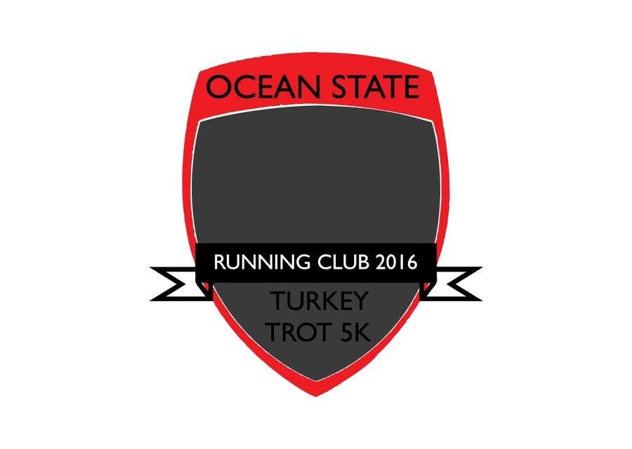 Contest Entry #2 for Ocean State Run Club Turkey Trot 5K  Logo