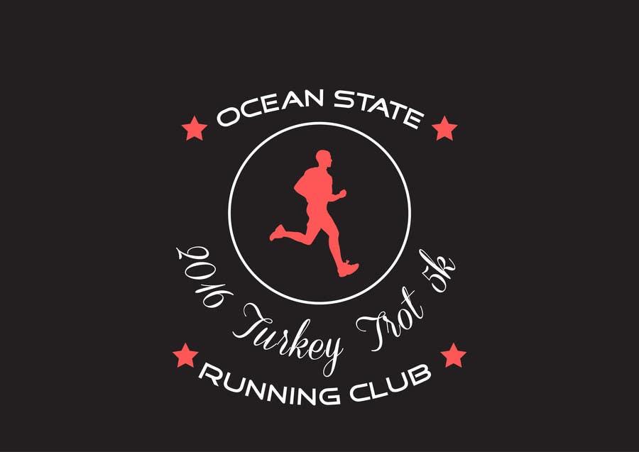 Contest Entry #12 for Ocean State Run Club Turkey Trot 5K  Logo
