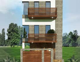 #7 for House Plan for a small space: Ground Floor + 2 floors by InnaGeyer