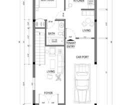 #31 for House Plan for a small space: Ground Floor + 2 floors by ABArchitect