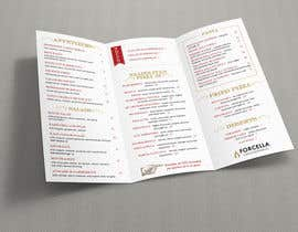 #53 dla To-Go Menu for restaurant przez turtledes