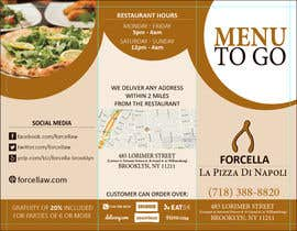 #54 for To-Go Menu for restaurant by ronilto1001