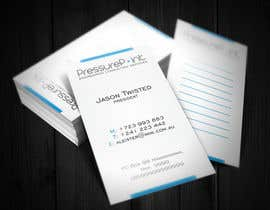 #94 for Business Card Design for Pressurepoint by F5DesignStudio
