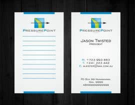 #201 for Business Card Design for Pressurepoint af F5DesignStudio