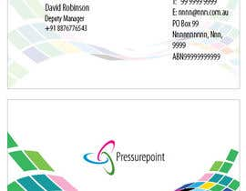 #2 for Business Card Design for Pressurepoint by Ritash