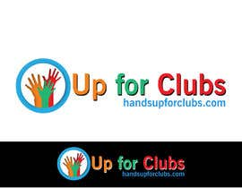 #154 for Design a Logo for Hands Up for Clubs by mirceabaciu