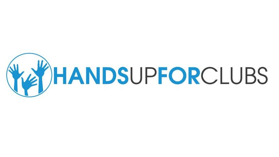 Inscrição nº 81 do Concurso para Design a Logo for Hands Up for Clubs