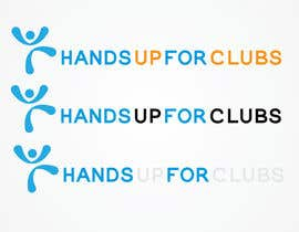 #120 for Design a Logo for Hands Up for Clubs by ffarukhossan10