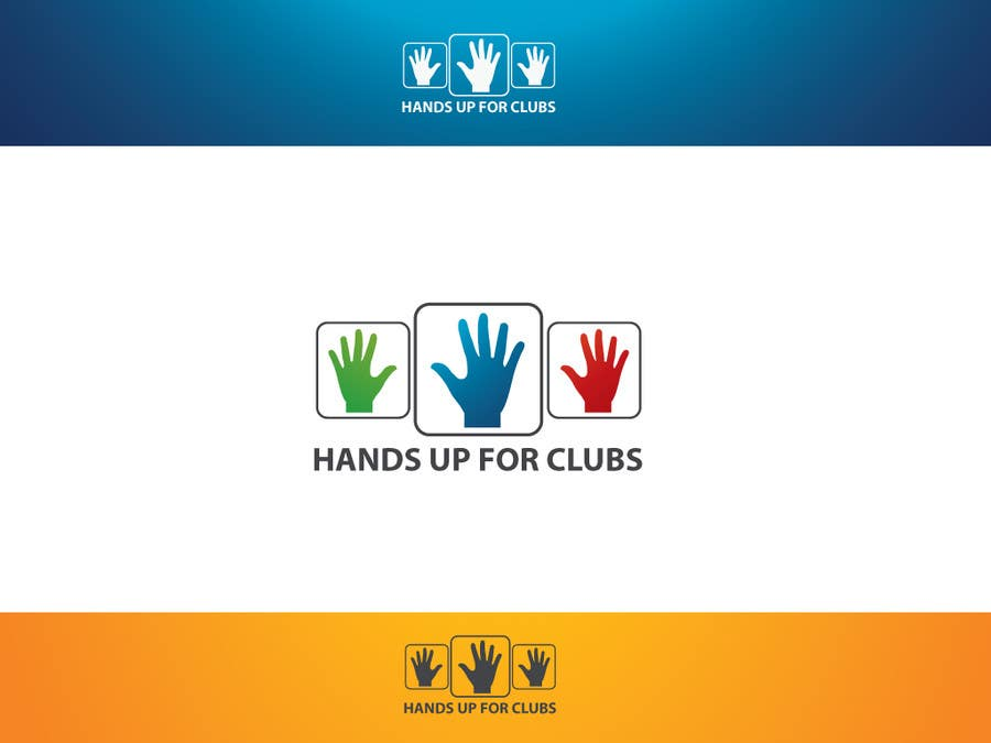 Proposition n°135 du concours Design a Logo for Hands Up for Clubs
