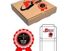 wingyiulam tarafından Design on a Pizza type box for a clothes online store için no 1