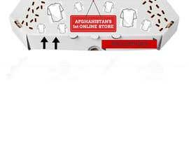 fahadkonvict tarafından Design on a Pizza type box for a clothes online store için no 4