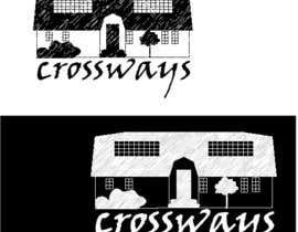 """Nro 3 kilpailuun Luxury Guesthouse logo design """"Crossways"""" käyttäjältä LiberteTete"""