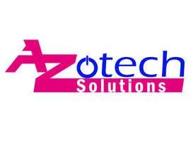 #61 para Logo for Azotech Solutions de tapu3400