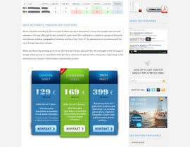 #1 para Improve design on one webpage de webidea12