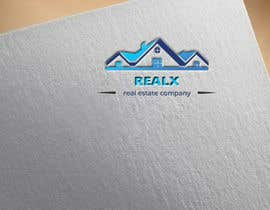 #33 untuk REALX - Real estate brand Logo for new investors group oleh husainmill
