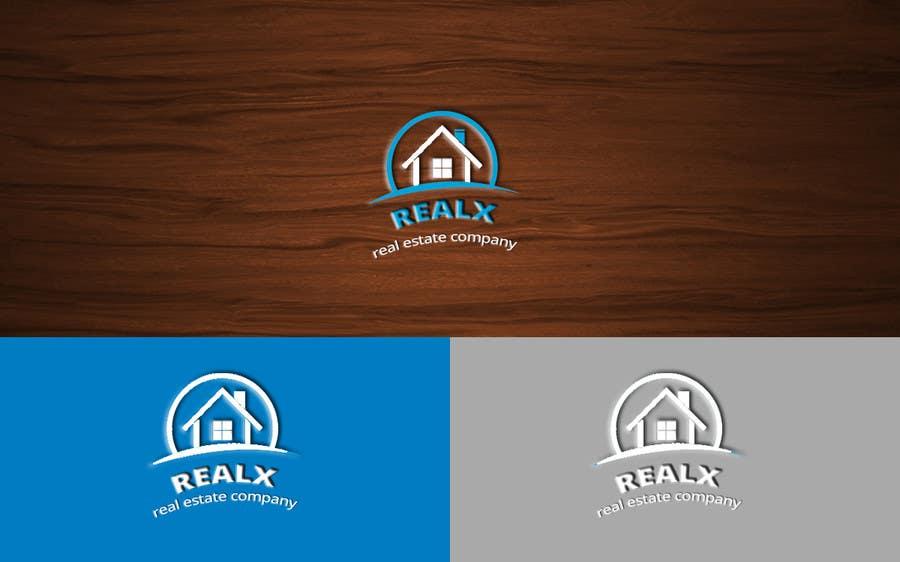 Participación en el concurso Nro.                                        39                                      para                                         REALX - Real estate brand Logo for new investors group