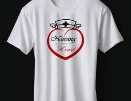 #6 para Nursing is a work of heart de abazadesigns1