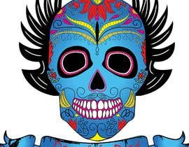 #29 para Design a T-Shirt for day of the dead por haftech