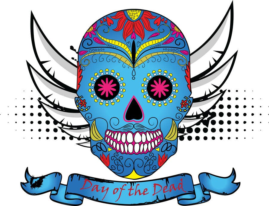 #31 for Design a T-Shirt for day of the dead by haftech