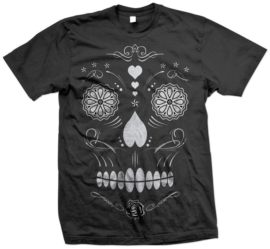 #28 for Design a T-Shirt for day of the dead by triharyoko