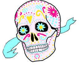 #1 para Design a T-Shirt for day of the dead por Becca93