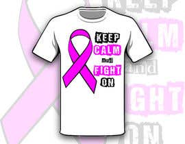 #14 untuk Design a T-Shirt for Breast Cancer Month oleh Drhen