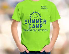 #74 for Kids Summer Camp T shirt design by drg8