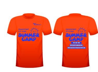 crazenators tarafından Kids Summer Camp T shirt design için no 59