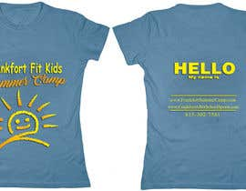 #7 for Kids Summer Camp T shirt design by AndradaDiana