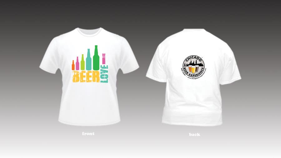 Bài tham dự cuộc thi #7 cho Design a T-Shirt for Chicago Beer Experience Beer Tours