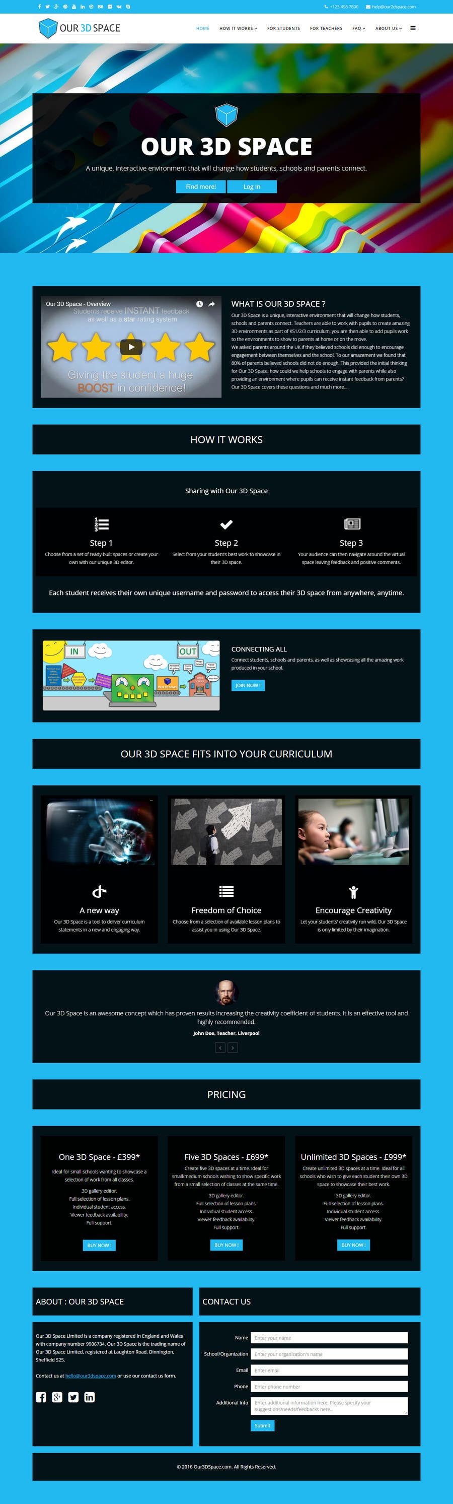 Kilpailutyö #20 kilpailussa Design a Website Mockup for an existing site